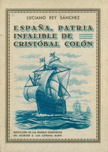 España, Patria infalibre de Colón