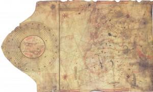 Mapa utilizado por Colón