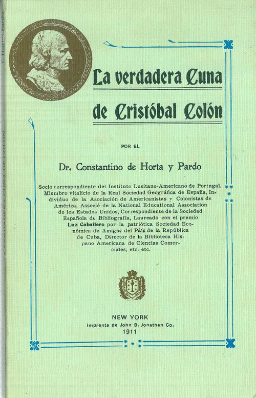 La verdadera cuna de Cristóbal Colón