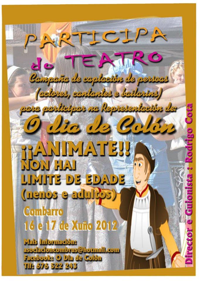 O día de Colón - Combarro - Apúntate al Teatro