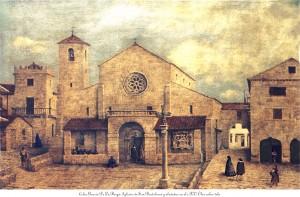 San-Bartolomé o vello. Oleo sobre tela