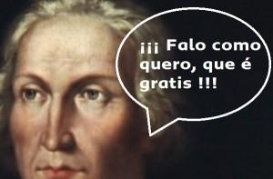 Lengua de Cristóbal Colón
