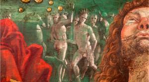"""Detalle del fresco """"Resurrección de Cristo"""" del Pinturicchio. (Foto pintura.aut.org)"""