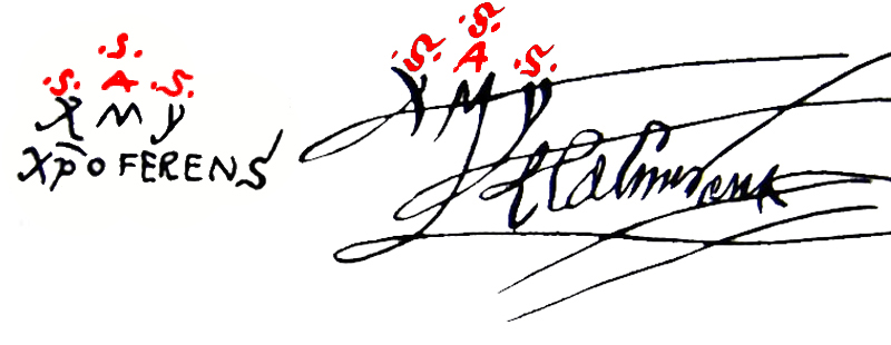 Firma Colon Dios
