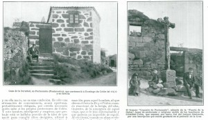 Casa natal de Cristóbal Colón según la tradición de Portosanto - Poio
