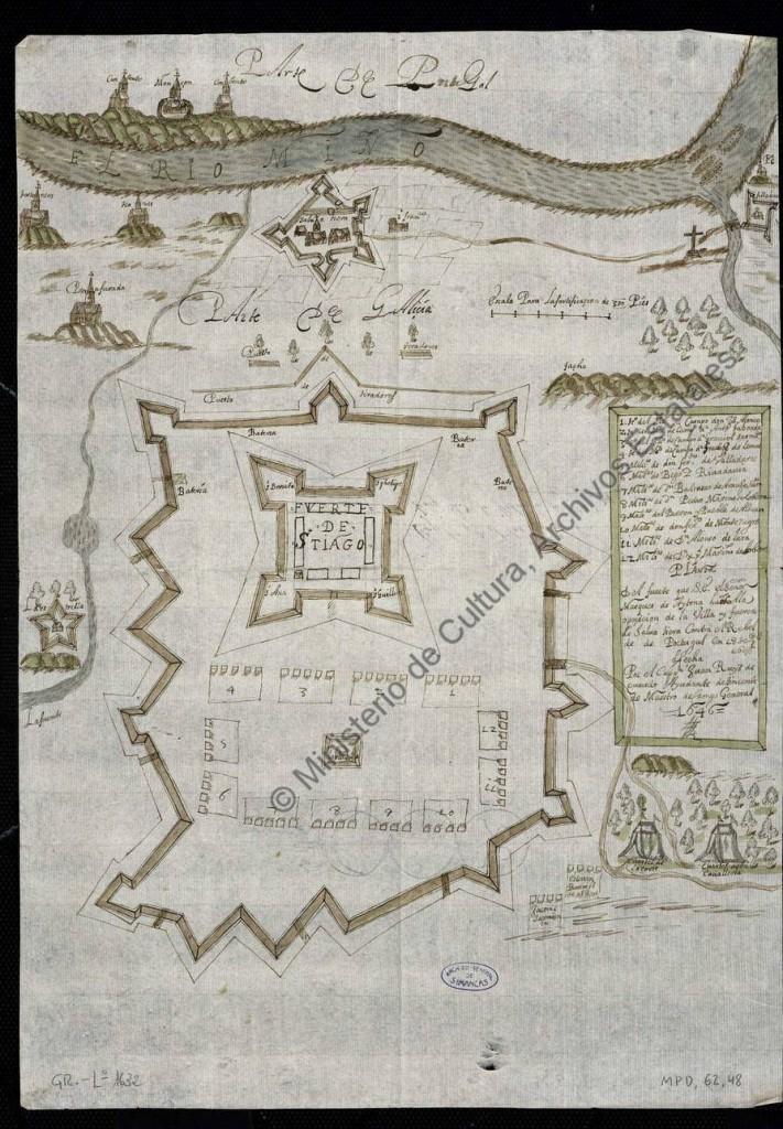 fuerte marques de Aytona en 18 de septiembre de 1646
