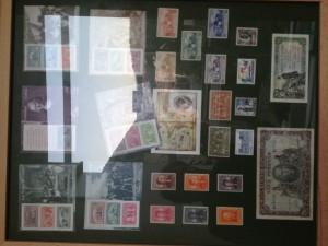 Colección de sellos y billetes - Temática Cristóbal Colón.- Colección Fernando Alonso