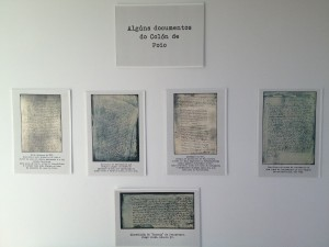 Algunos documentos empleados por Celso García de la Riega en su tesis. Colección Casa Museo