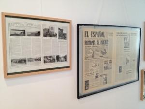Dos publicaciones de principios de siglo, defendiendo la teoría gallega de Colón.- Colección Fernando Alonso