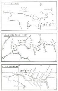 Mapa Colón y Juan de la Cosa